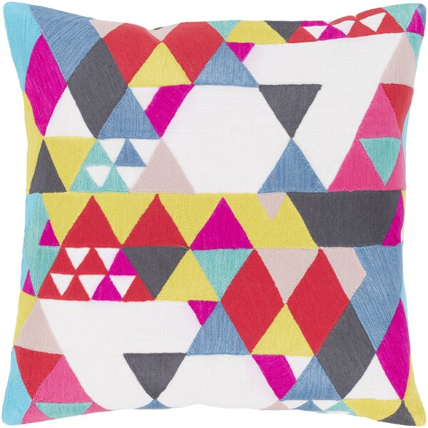 Annika 100% Cotton Throw Pillow By Ivy Bronx.
